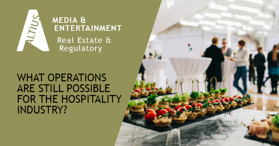 How has COVID-19 affected the hospitality industry?