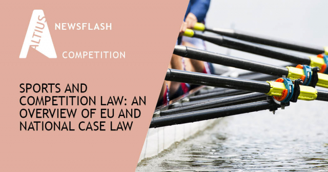 Sports and competition law: An overview of EU and national case law