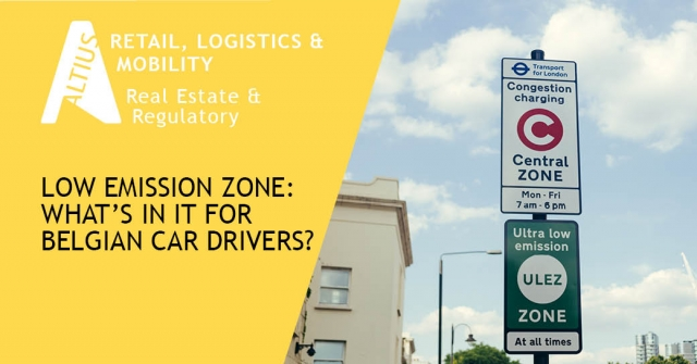 Low Emission Zone: what's in it for Belgian car drivers?