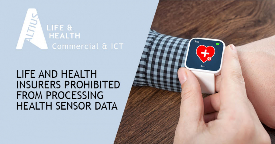 The DPA approves a draft Act prohibiting life and health insurers from processing health sensor data